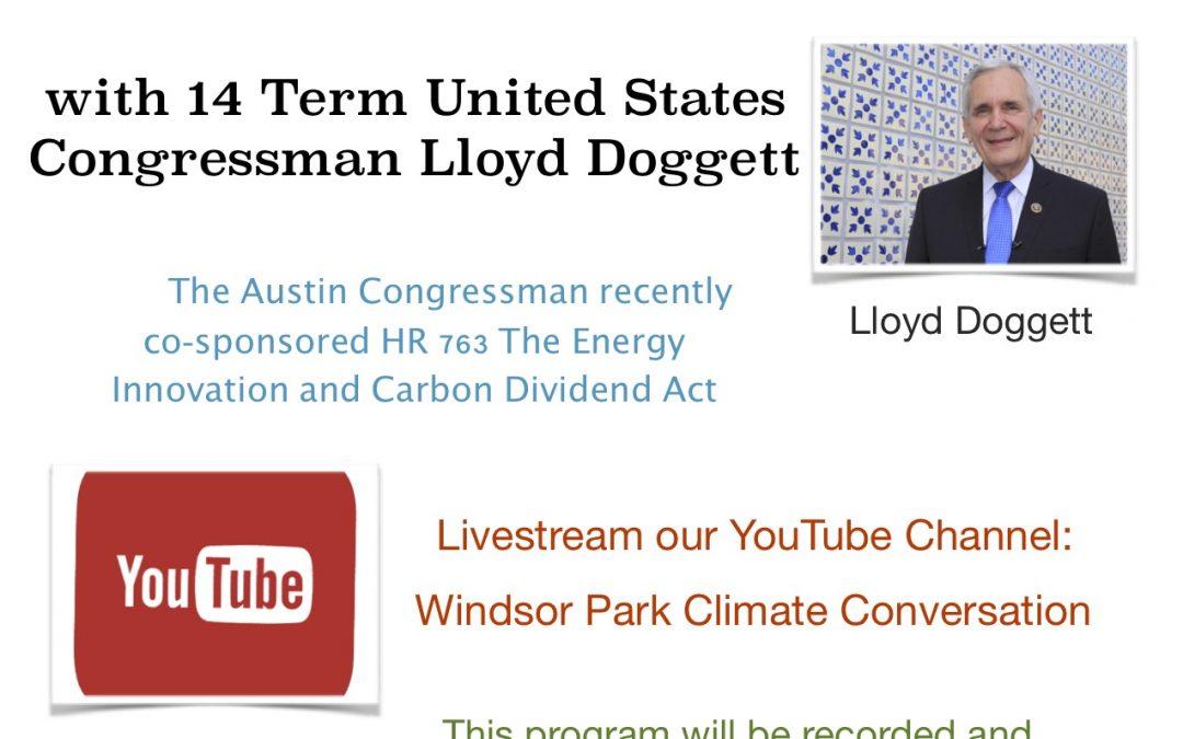 Climate Conversation – Congressional Action Plan