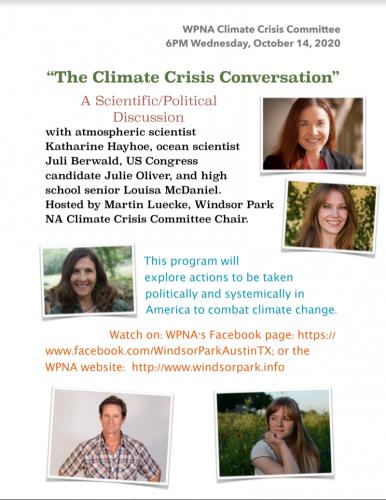 Climate Conversation Flyer